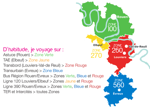 La carte Atoumod'multi pour les Eurois