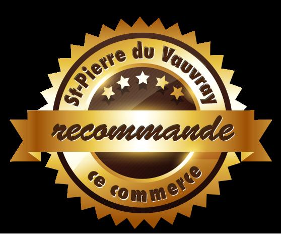 Saint-Pierre du Vauvray recommande ce commerce