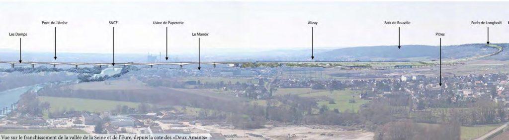 viaduc de Pîtres - le Manoir - base de loisirs - Val-de-Reuil